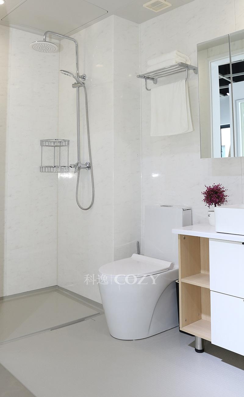 Nhà máy trực tiếp trang trí căn hộ tích hợp phòng tắm toàn bộ