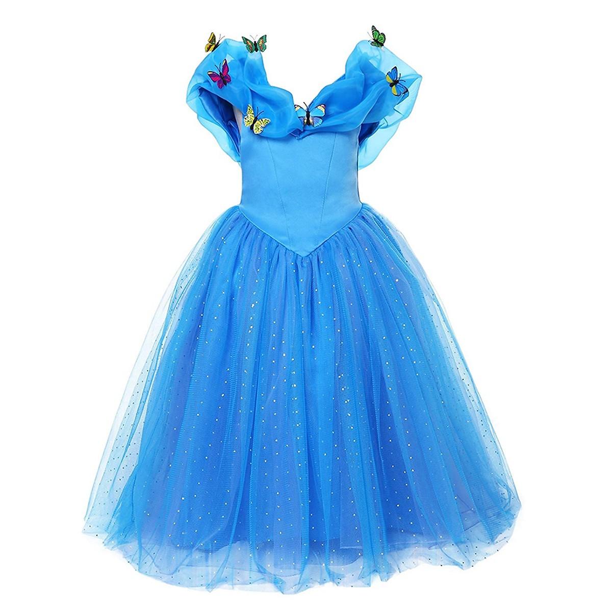 Váy Đầm kiểu Công Chúa Lọ Lem Cinderella