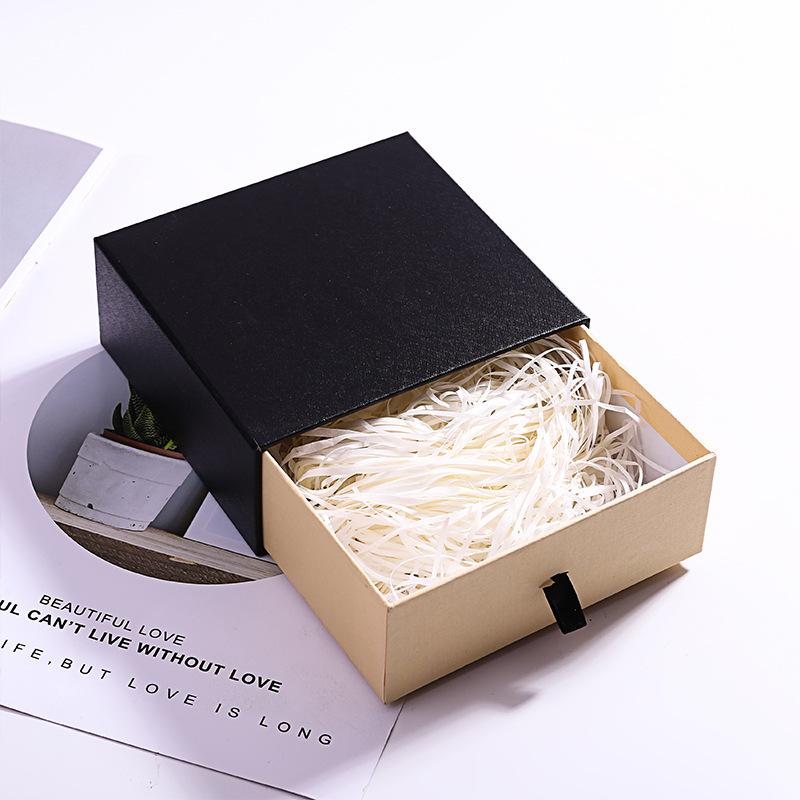 NLSX bao bì Bán hàng trực tiếp mới tại chỗ hộp đựng đồ trang sức hộp quà tặng hộp ngăn kéo có thể đư