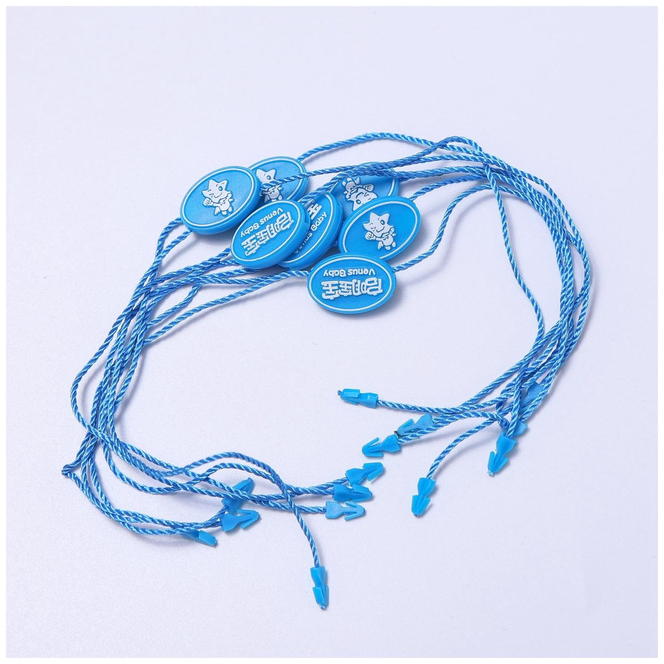 WEIZUO dây đeo Nhà sản xuất chuyên nghiệp tùy chỉnh dây tay đôi chèn nhựa treo hạt quần áo phụ kiện