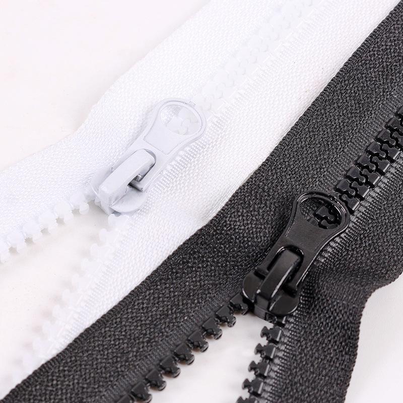 EKK Dây kéo nhựa Tại chỗ bán buôn 5 dây kéo nhựa kéo dây kéo nhựa túi quần áo vỏ gối dây kéo có thể
