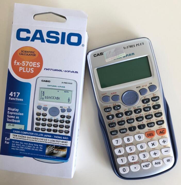 Máy Tính Casio FX 570ES Plus Có Tem Bitex Phân Phối Chính Hãng
