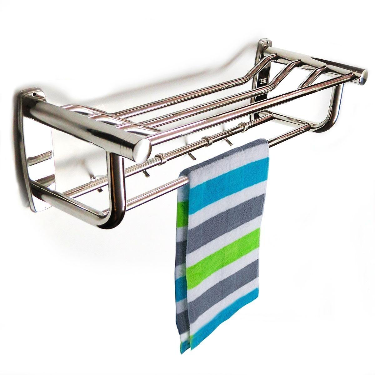 Kệ treo khăn tắm inox đa chức năng Eurolife EL-B8