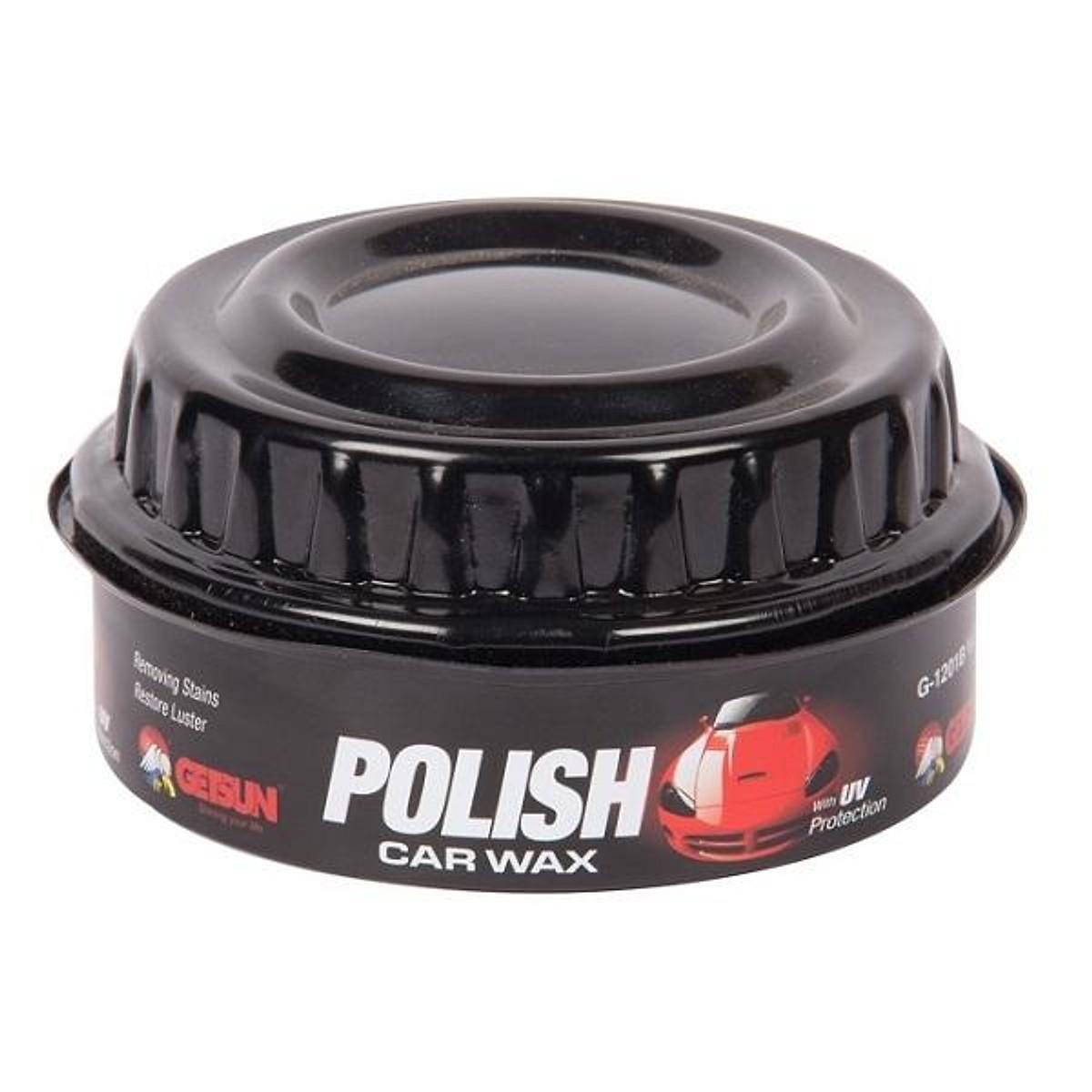 Sáp đánh bóng xe ôtô xe máy chuyên dụng tiện lợi Polish Wax GETSUN (Đen)