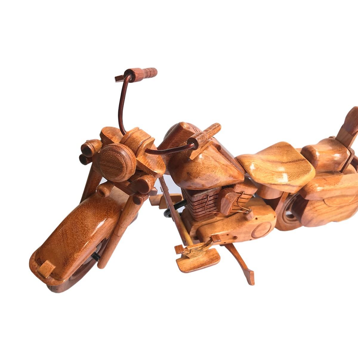 Mô hình xe gỗ Motor Harley Davidson