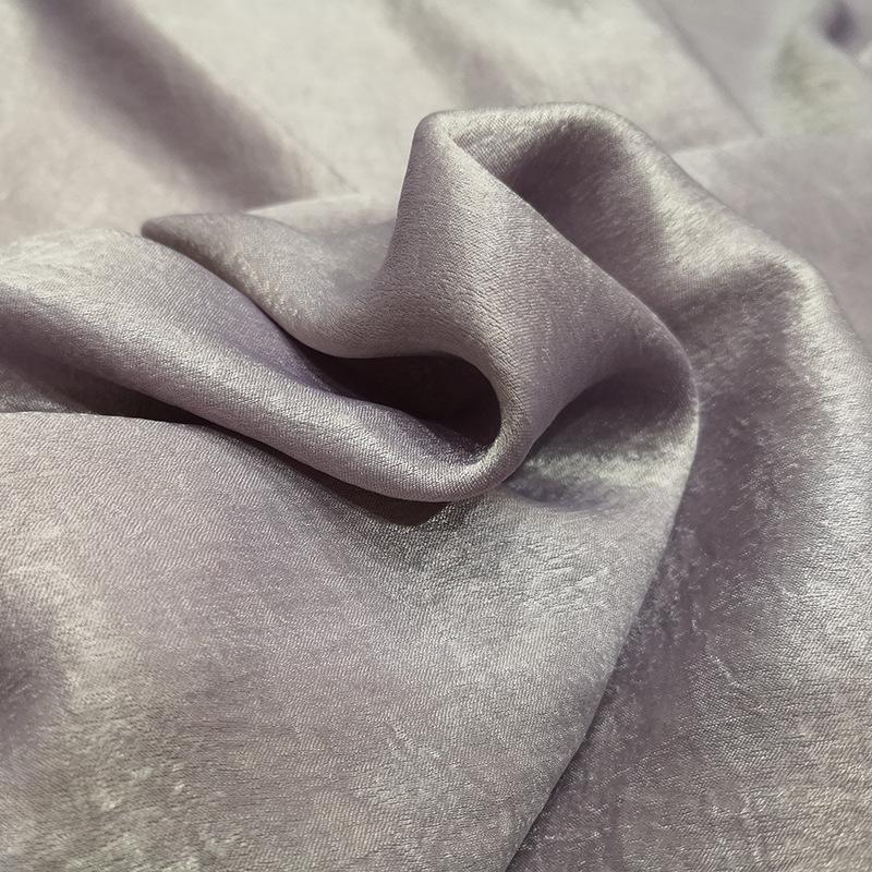 GUANGSHENG NLSX vải Tại chỗ Bán buôn Mô phỏng Bộ đồ ngủ bằng lụa Satin Vải satin nhung lót thời tran