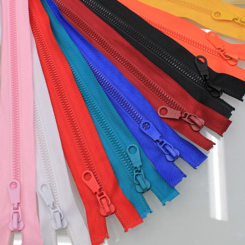 TAIYANGSHEN Dây kéo nhựa Khóa kéo khác nhau có thể được tùy chỉnh 3 Số 5 Số 8 Dây kéo nhựa Một số lư