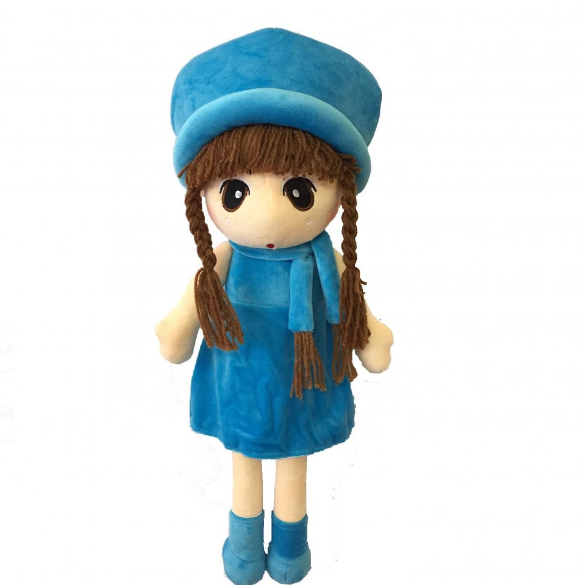 Búp bê đội nón - búp bê vải Việt Nam - giao màu ngẫu nhiên