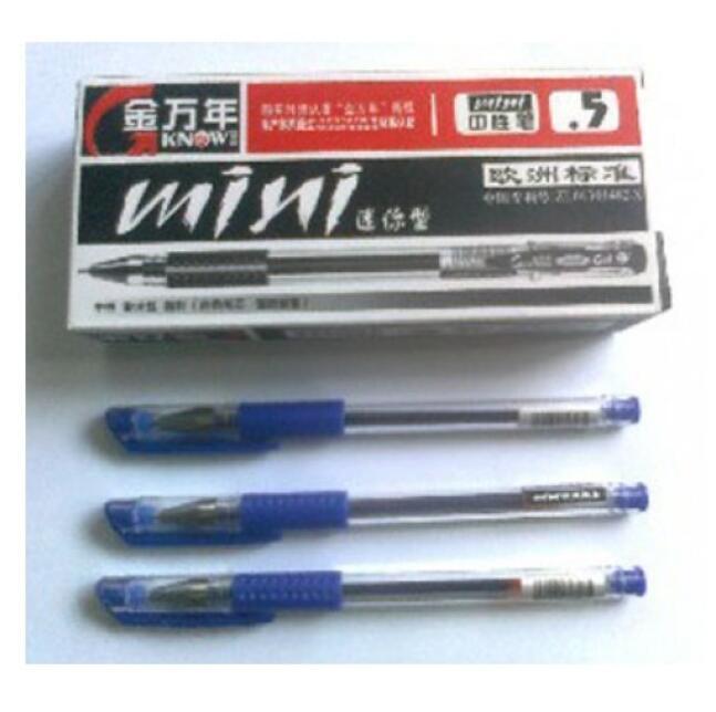 Bút nước mực xanh - Bút gel - Bút bi nước