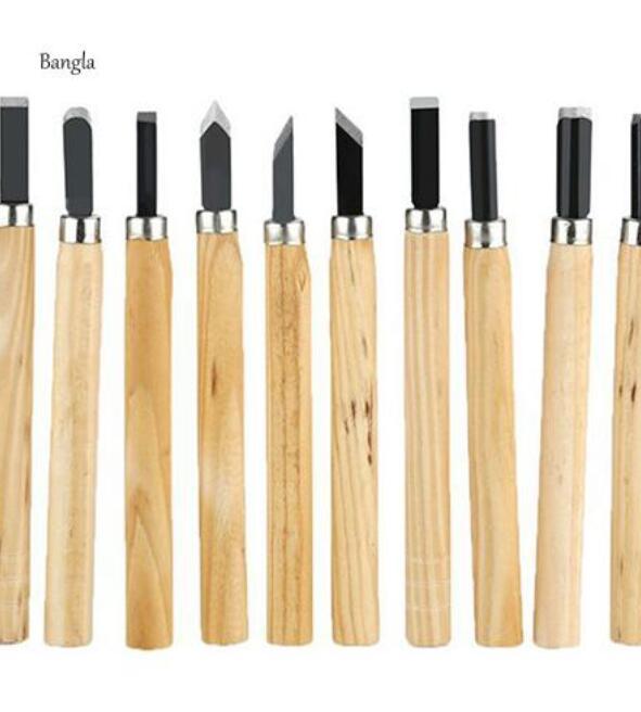 dao điêu khắc vật liệu gỗ cán gỗ chuyên dụng