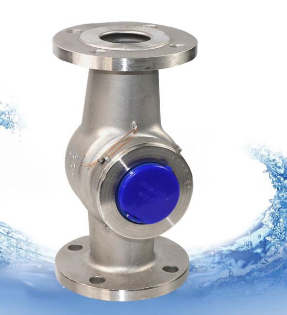 đồng hồ nước sợi công nghiệp nước thải thép không gỉ