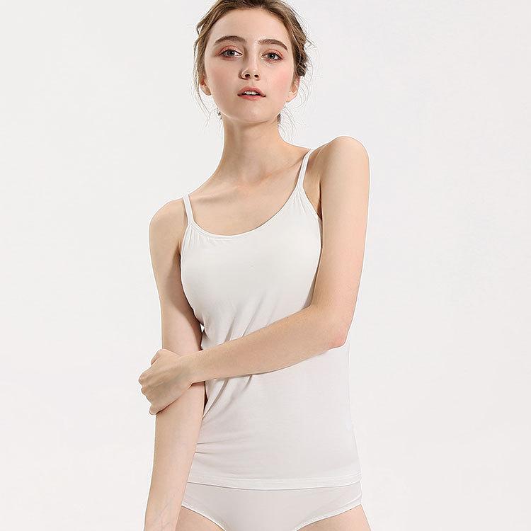 MIJING Dây treo trang phục 2019 nhà sản xuất thay mặt cho modal đai ngực pad vest cup một yoga đồ ló