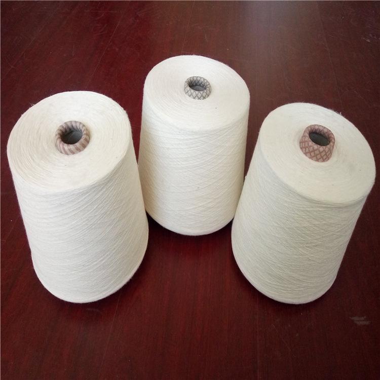 WFHF Sợi pha , sợi tổng hợp Sợi bông và len pha trộn sợi 32, sợi ply polyester-sợi 21/2 sợi, vải lan