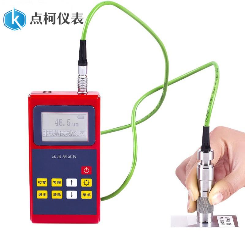 DIANKE Mạ màu Máy đo độ dày lớp phủ đầu dò F1 Máy đo độ dày lớp phủ từ tính KE-220