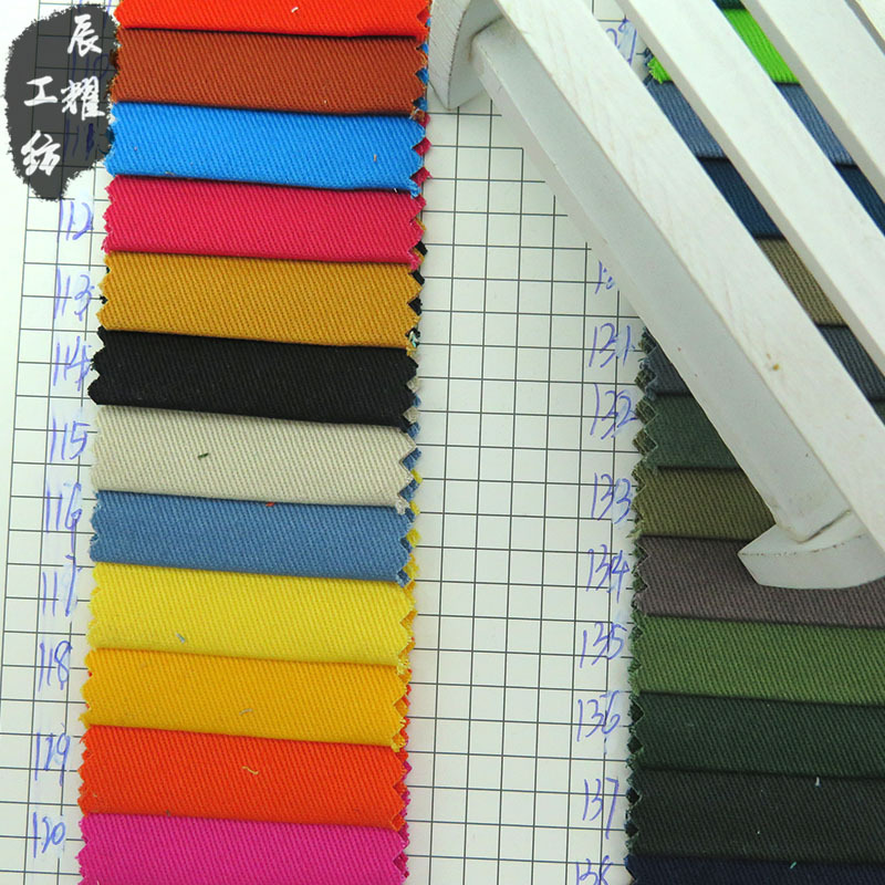CHENYAO Vải Twill Nhà máy sản xuất thẻ cotton trực tiếp 10856 không mặc áo khoác mùa thu và áo khoác