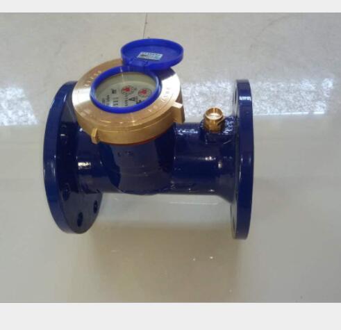 Đồng hồ nước Nhà sản xuất mức 100mm ốc Wing đồng hồ nước nóng và lạnh gia dụng kỹ thuật số mét nước.