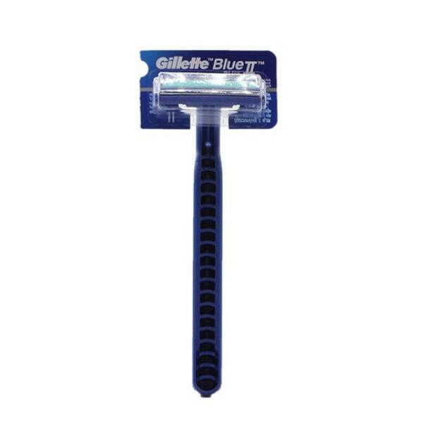Dao cạo râu cán XANH Gillette Blue II Plus lưỡi đôi (1 cây)