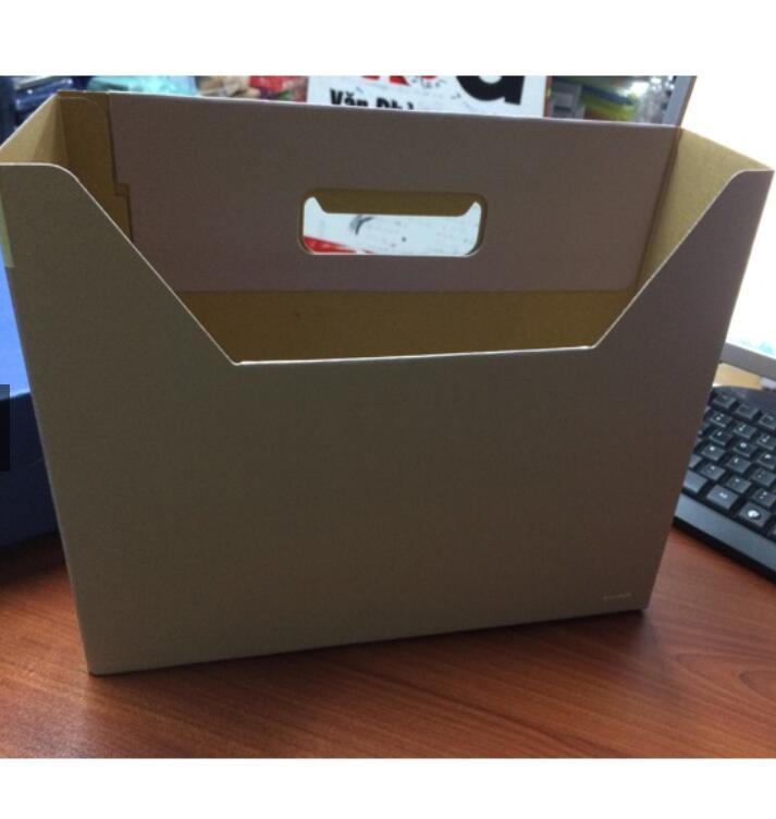 Hộp giấy File 1 Ngăn Giấy (Bìa Hộp Giấy)
