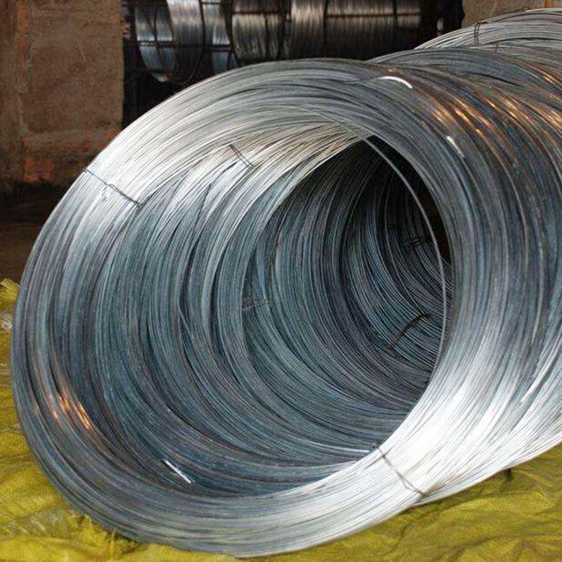 SHENGYE Dây kim loại Các nhà sản xuất sản xuất dây sắt mạ kẽm cứng nhiều màu sáng mạ kẽm chịu lực ca