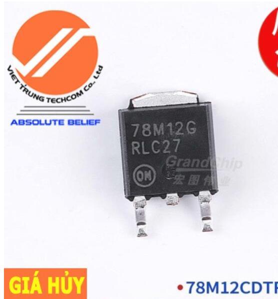 Chíp IC 78M12CDTRKG 78M12CDTRKG-t IC Chip
