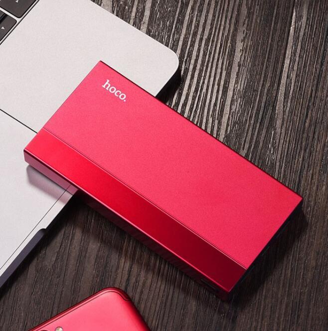 Pin Sạc Dự Phòng Hoco J34 10000mah 2 Cổng Sạc USB 2A Hỗ Trợ Sạc Cùng Lúc 2 Thiết Bị