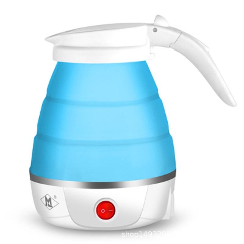 MAOKE Ấm,bình đun siêu tốc Cat travel folding electric kettle home silicone mini portable small kett