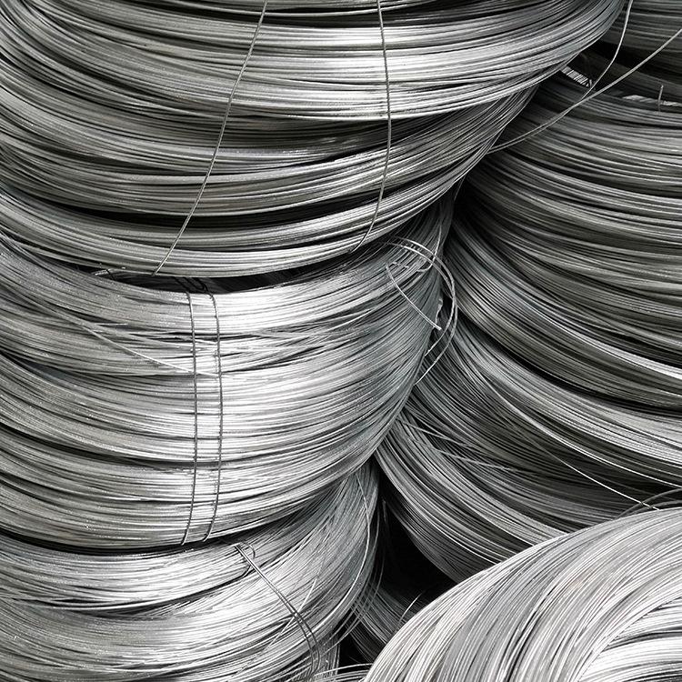 JUNDA Dây kim loại Nhà máy trực tiếp mạ kẽm dây thép mạ kẽm dây có thể được tùy chỉnh