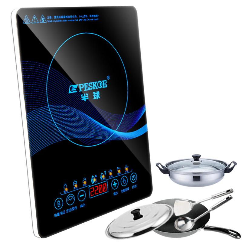 Bếp từ, Bếp hồng ngoại, Bếp ga Genuine Induction Cooker Home Smart Slim Mini Touch New Firepower Who