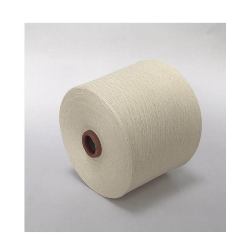 HUAFENG Sợi pha , sợi tổng hợp Sợi polyester kéo sợi 40 vòng sợi pha trộn T80 / C20 sợi đơn / sợi pl