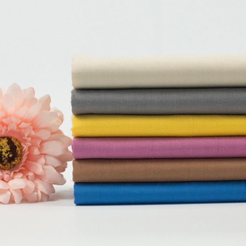 Vải pha sợi Nhà máy trực tiếp nhiều màu tùy chọn 96 * 72tc polyester cotton phù hợp với túi vải viền
