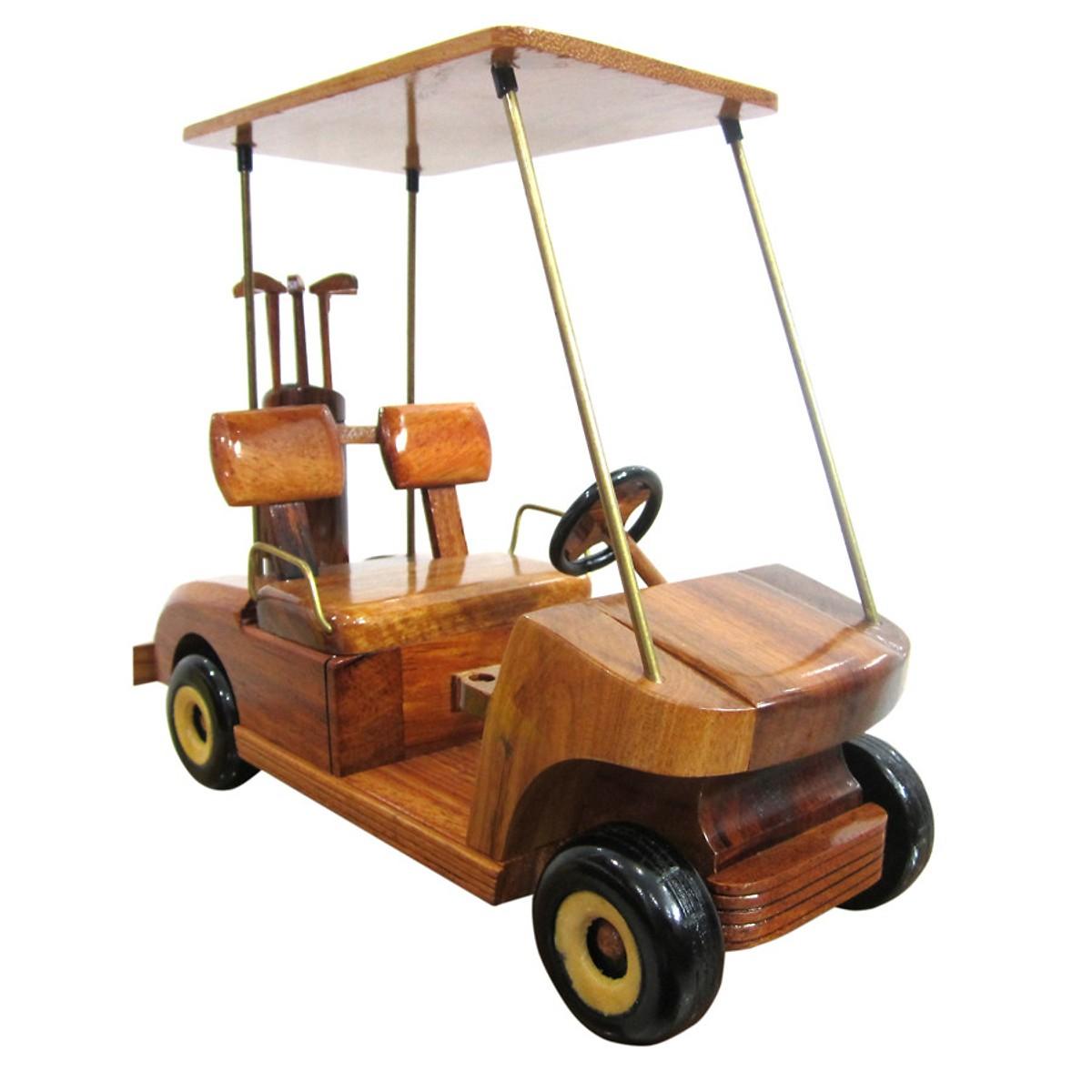 Mô hình xe gỗ xe golf điện