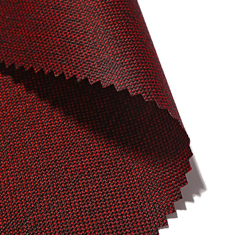 Vải Polyester Nhà sản xuất vải polyester oxford mới 1200D cationic PU vải không thấm nước ghế trà ba
