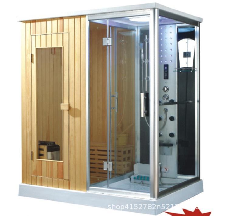 Phòng tắm xông hơi cao cấp đa chức năng .