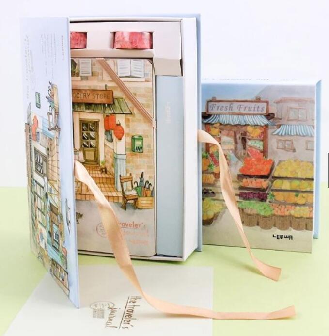 Set sổ tay quà tặng xinh xắn phong cách Nhật Bản