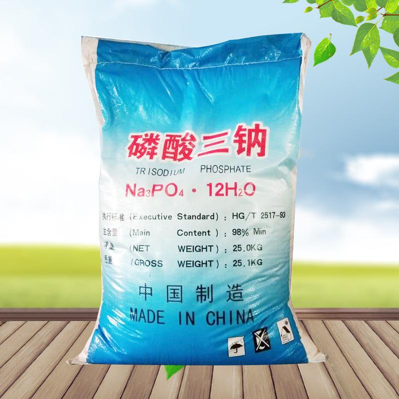 CHANGJING Muối vô cơ / muối khoáng Trisodium Phosphate công nghiệp Trisodium Phosphate để xử lý nước