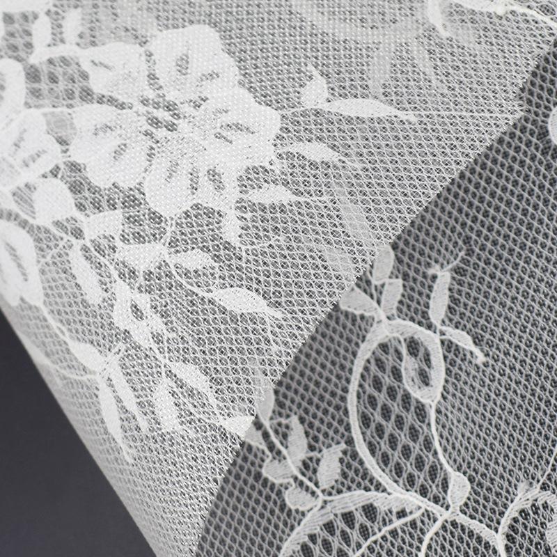 FANGQI Vật liệu tổng hợp Nhà máy trực tiếp ren hoa lưới vải tổng hợp vải lưới váy cưới phụ kiện thời