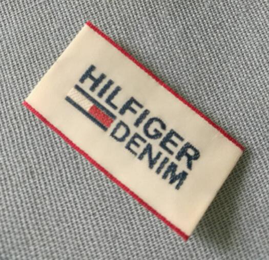 RUICHUANG tem mạc , logo Cung cấp dài hạn các nhãn hiệu quần áo mật độ cao, nhãn vải, tiêu chuẩn, tù
