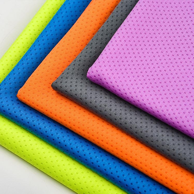 YUYI Vải lưới Mới vải lưới bướm 75D jacquard vải lưới lỗ vải dệt kim vải thể thao nhà sản xuất vải b