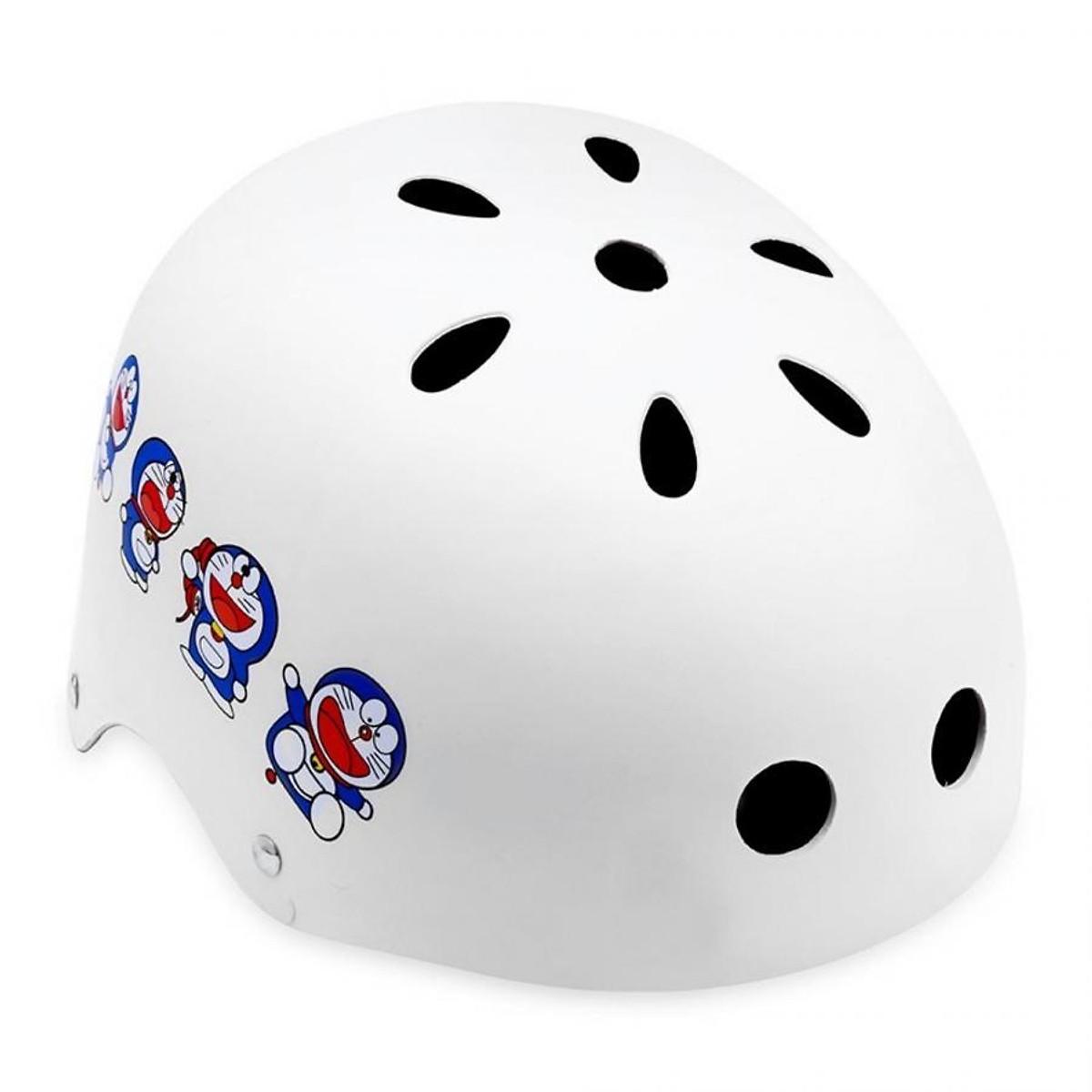 Mũ bảo hiểm xe đạp , Thương hiệu : BMX , hình doremon