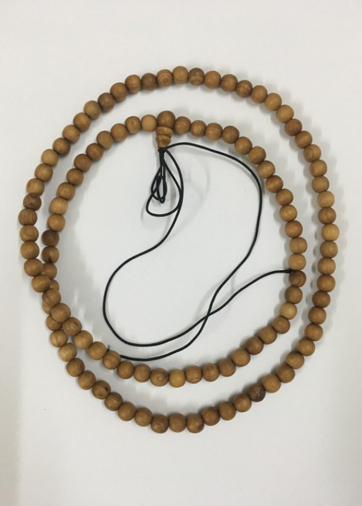 Chuỗi tràng hạt niệm Phật gỗ ngọc am cao cấp (TH15: 108 hạt 06ly)