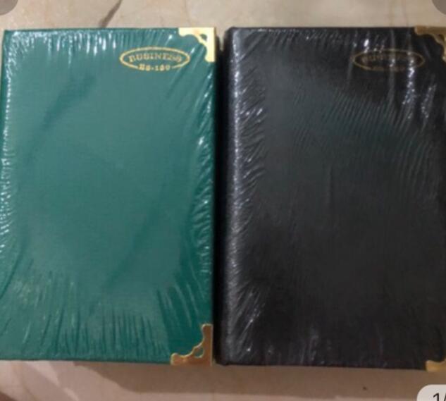 Sổ tay 5 cuốn sổ tay bìa da B3-160trang