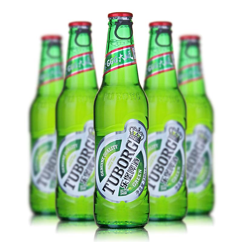 TUBOUG NLSX bia Bia Lebao TUBOUG Carlsberg sản xuất 330ml * 24 chai bar KTV Thành Đô Shuanghongyang