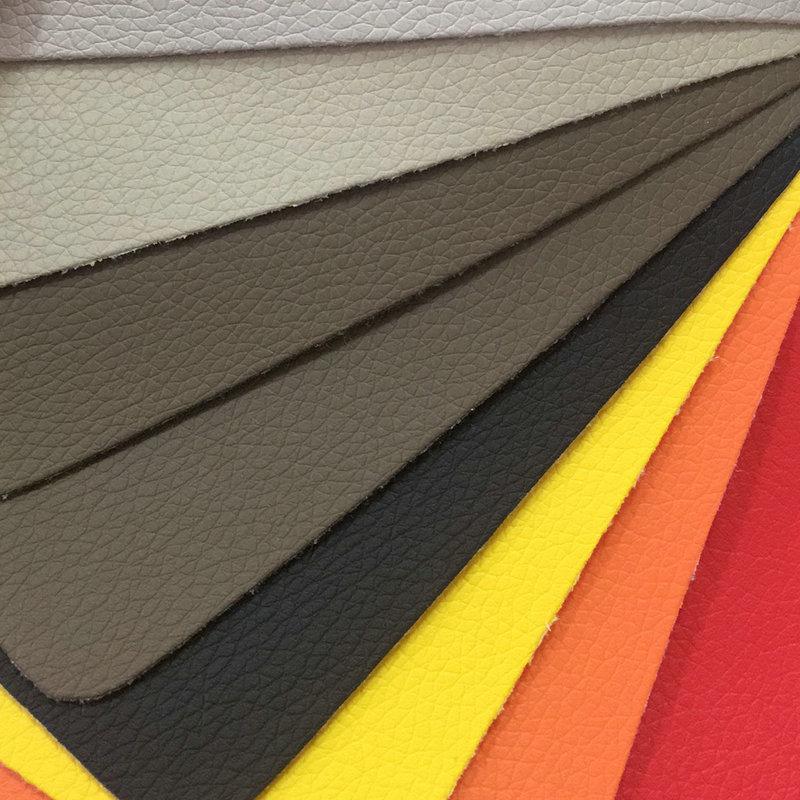 AILISIDA da Litchi da nhà sản xuất da cung cấp bền pu da nền tường sofa trang trí vải vải da