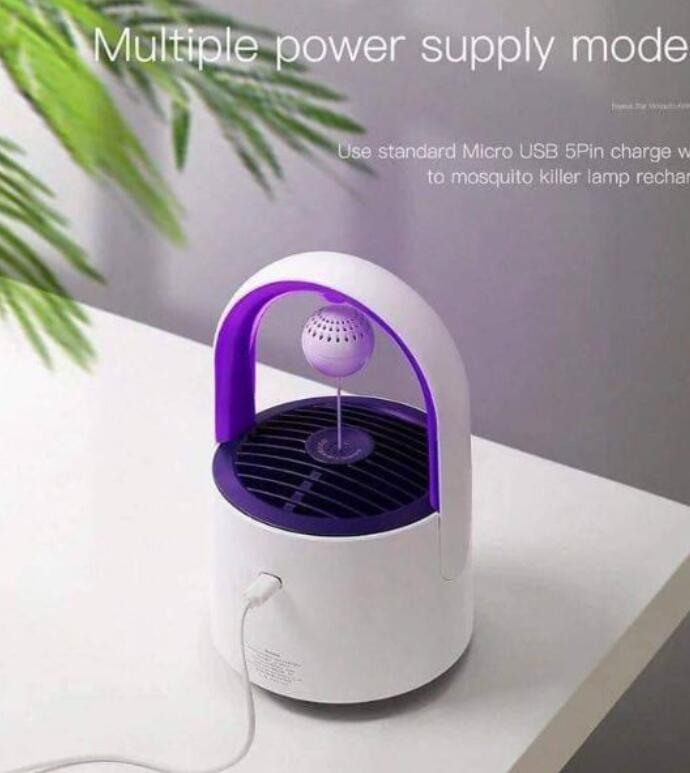 Đèn Bắt Muỗi Baseus Purple Vortex Mosquito Lamp