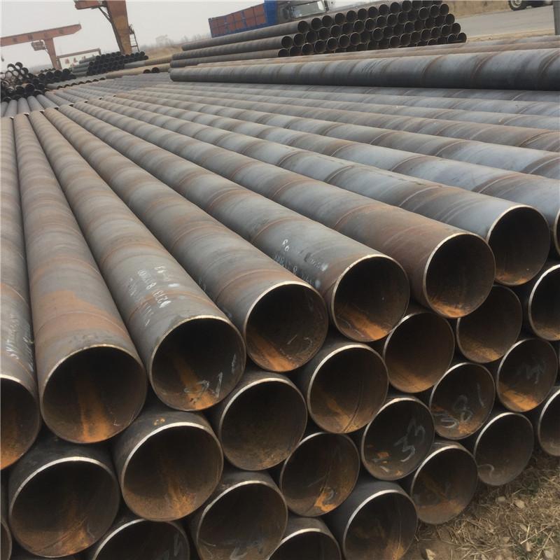 Ống thép Q235b ống hàn xoắn ốc đường kính lớn ống xoắn ốc 3PE ống xoắn ốc chống ăn mòn ống thép chìm