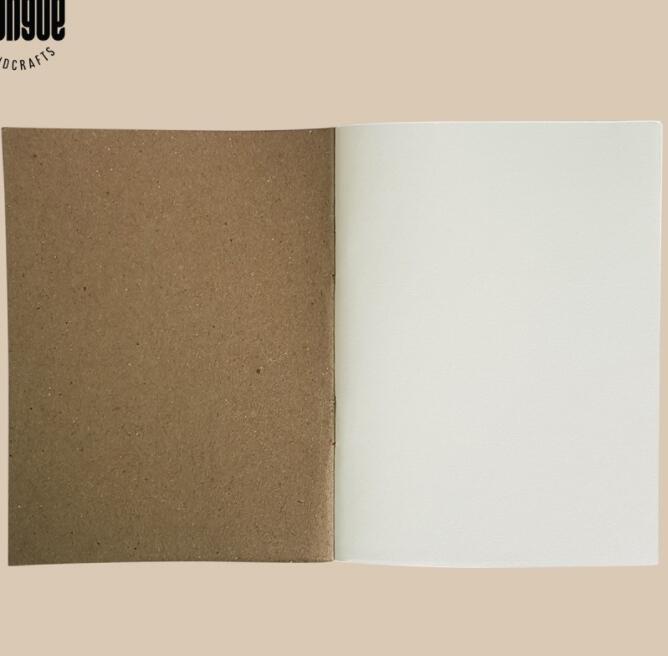 Sổ Tay Trắng Trơn Bìa Cứng 12x9cm - Size Passport