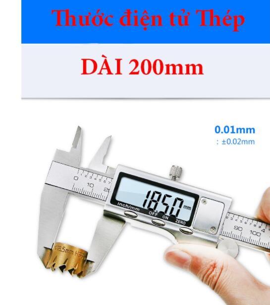 thước kẹp điện tử 200mm
