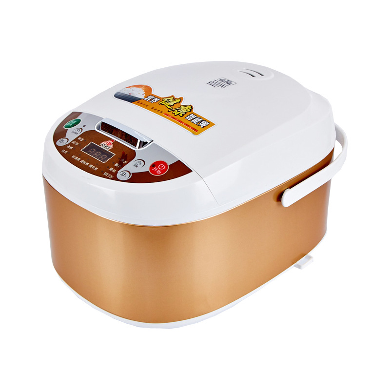 Xiaobawang Nồi cơm điện intelligent square rice cooker can be scheduled for 5L rice cooker