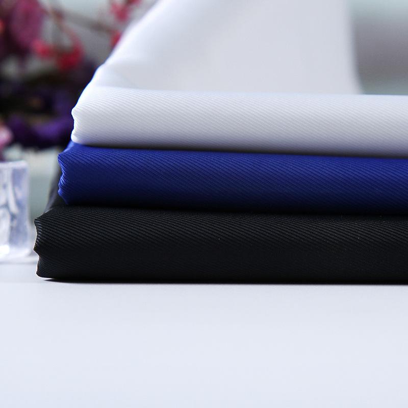 XINPENGFEI Vật liệu tổng hợp Nhà máy trực tiếp Twill Chun Yafang vải tổng hợp Vải polyester Quần áo