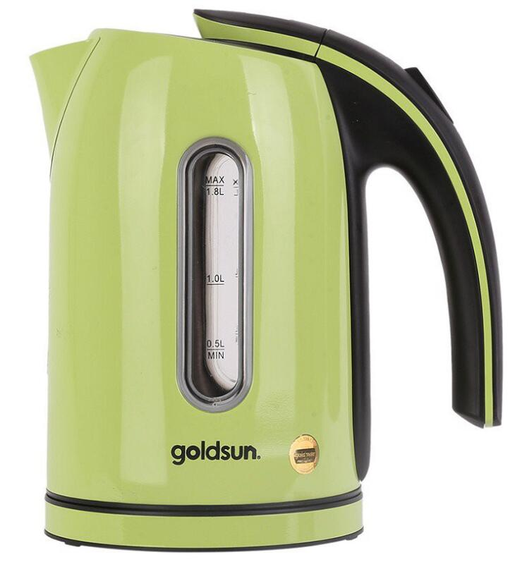 Ấm,bình đun siêu tốc Bình Đun Siêu Tốc Goldsun EK-GF1836SG Xanh 1.8L